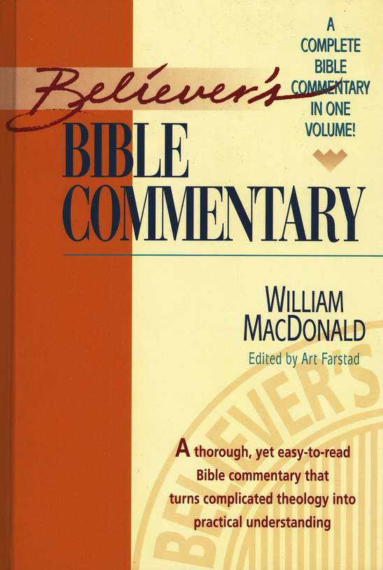 BIBLE COMMENTARIES PDF