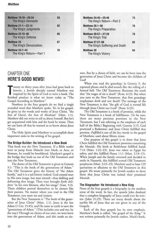 The Four Gospels A Bible Study Collection - Free downloads ...