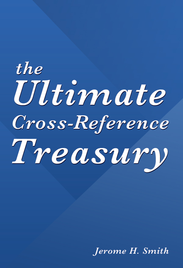 The Ultimate Cross-Reference Treasury, for e-Sword
